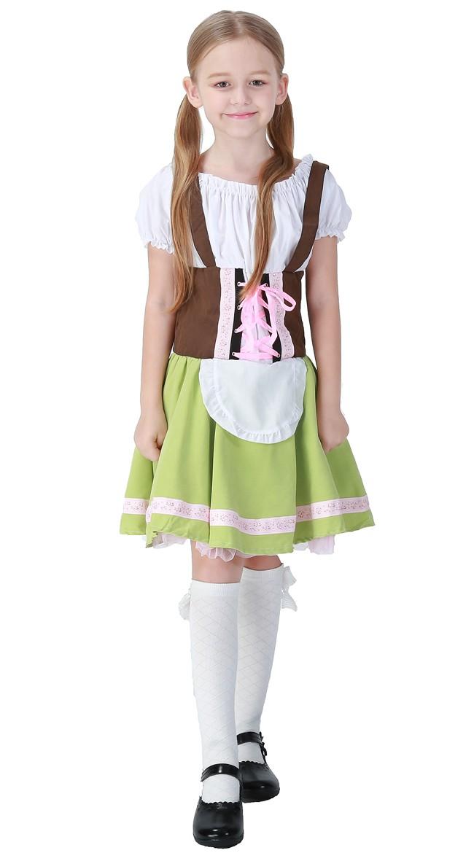 Bayerisches Mädchen Oktoberfest Kleidung Kinder