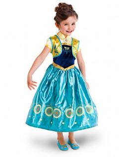 Frozen 2 Lange Fieber Anna Kleid Kinder