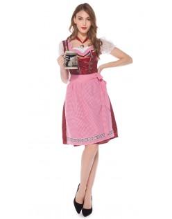 Rot Oktoberfest Kostüm Traditionelle Bayerische Kleidung
