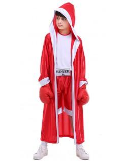 Boxer Kostüm für Kinder Rot