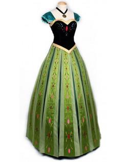 Erwachsene Deluxe Frozen Kleider Prinzessin Anna Kostüm