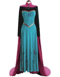 Frozen Prinzessin Kleider Reisen Anna Kostüm Erwachsene