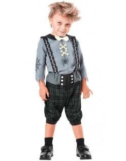 Verspielte Geisterspinne Halloween Vampir Kostüm für Kinder
