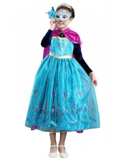 Frozen Prinzessin Kleider Anna Kleid für Kinder