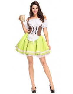 Bayern Lissy Oktoberfest Kleidung Damen Grün