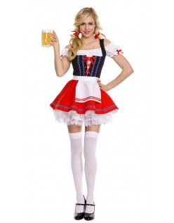 Heidi Dirndl Kostüm Oktoberfest Kleidung Damen