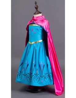 Eiskönigin Kostüm Elsa Krönungstag Kleid Kinder