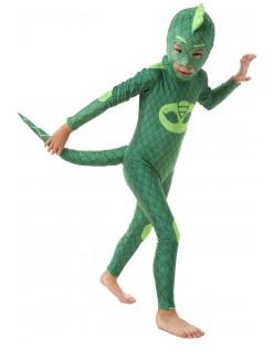 PJ Masks Gekko Kostüm für Kinder mit Schwanz