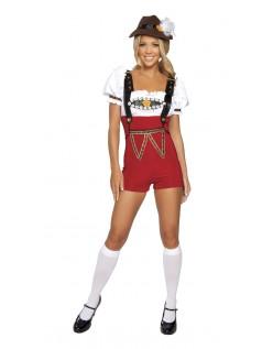 Oktoberfest Kleidung Tirolerin Damenkostüm