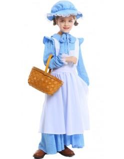 Kolonial Kostüm Kinder Pionier Kostüm für Mädchen
