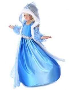 Eiskönigin Kostüm Prinzessin Elsa Kleid Kinder