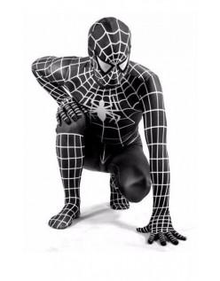 Klassische Spiderman Kostüm Für Erwachsene Schwarz Superhelden Kostüme