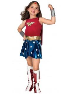 Mädchen Superhelden Wonder Woman Kostüm für Kinder