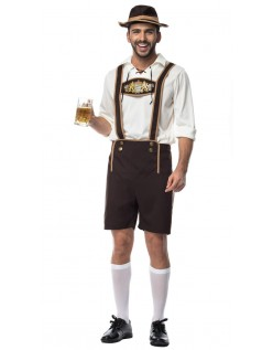 Bayern Kerl Oktoberfest Lederhose Kostüm Herren