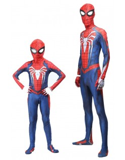 PS4 Spiderman Kostüm Für Kinder Erwachsene Halloween Superhelden Kostüme
