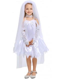 Kinder Braut Kostüm für Mädchen