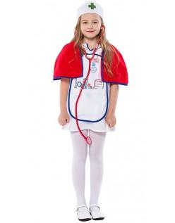 Ärzte Kostüm Kinder Krankenschwester Kostüm für Mädchen