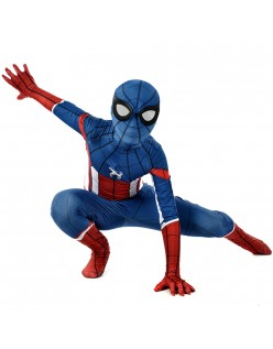 Captain America Spiderman Kostüm Kinder Erwachsene Halloween Superhelden Kostüme
