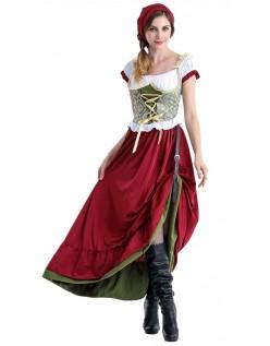 Renaissance Long Oktoberfest Kleidung Damen