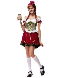 Renaissance Kurz Oktoberfest Kleidung Damen