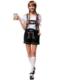 Edelweiss Oktoberfest Lederhose Kleidung Damen