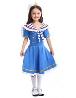 Süße Matrosen Kostüm Kinder Maritime Kostüm für Mädchen