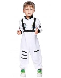 Astronauten Kostüm für Kinder Weiß