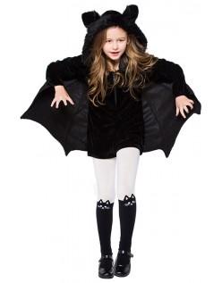 Halloween Vampir Fledermaus Kostüm für Mädchen