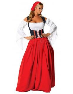 Miss Swiss Oktoberfest Kleidung Trachtenkostüm