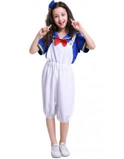 Donald Duck Kostüm Mädchen Matrosen Kostüm für Kinder