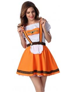 Braun Oktoberfest Kleidung Damen