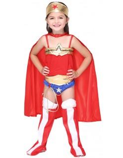 DC Comics Wonder Woman Kostüm für Kinder
