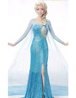 Günstige Frozen Elsa Kostüm Für Erwachsene Damen