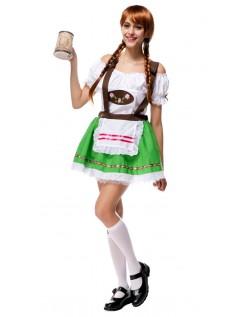 Sweetie Oktoberfest Kostüm für Damen Grün