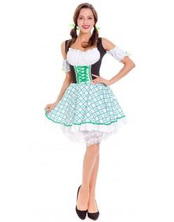 Klee Süsse Oktoberfest Dirndl Kleidung Damen