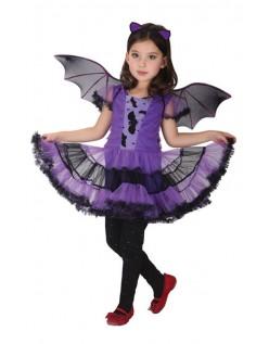 Kühnes Halloween Fledermauskostüm für Mädchen