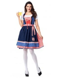 Klassische Deutschland Oktoberfest Kleidung Trachtenkleid