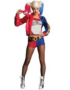 Stickerei Suicide Squad Harley Quinn Kostüm Kinder Set