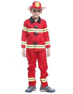 Feuerwehr Kostüm für Kinder Feuerwehrmann Kinderkostüm