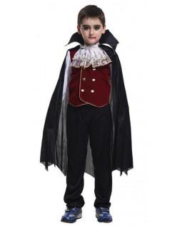 Edles Halloween Vampir Kostüm für Kinder