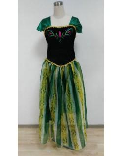 Frozen Kostüme Prinzessin Anna Kleid Für Erwachsene