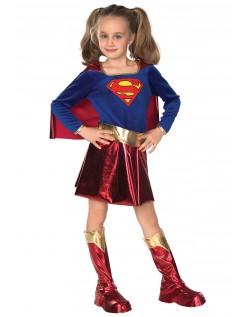 Halloween Supergirl Kostüm Superhelden Kostüme für Kinder