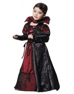 Mädchen Halloween Vampir Kostüm Partykleid für Kinder