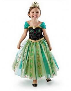 Frozen Prinzessin Anna Krönung Kleid Kinder