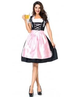 Stickerei Dirndl Kleid Oktoberfest Kleidung für Damen