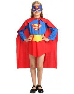 Klassische Supergirl Kostüme Superhelden Kostüme für Kinder