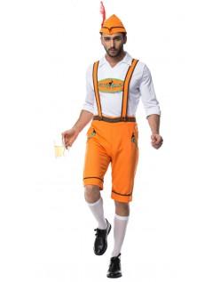 Trachtenhose Landmann Oktoberfest Lederhose Kostüm