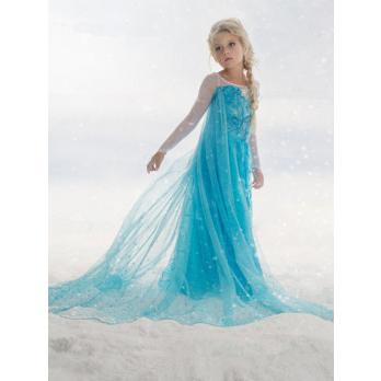 Eiskönigin Elsa Kostüm Eiskönigin Prinzessin Kostüm