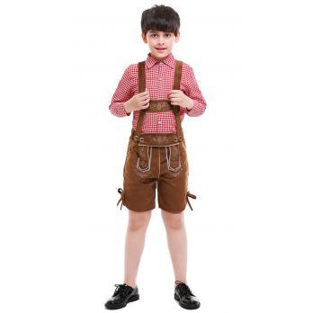 Oktoberfest Lederhosen Kostüm Kinder Trachtenlederhosen